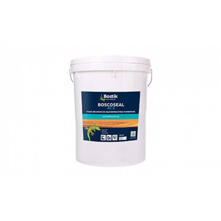 BOSCOSEAL AC2 Elastomeric Waterproofing Coating With Micro-Fibre Reinforcement