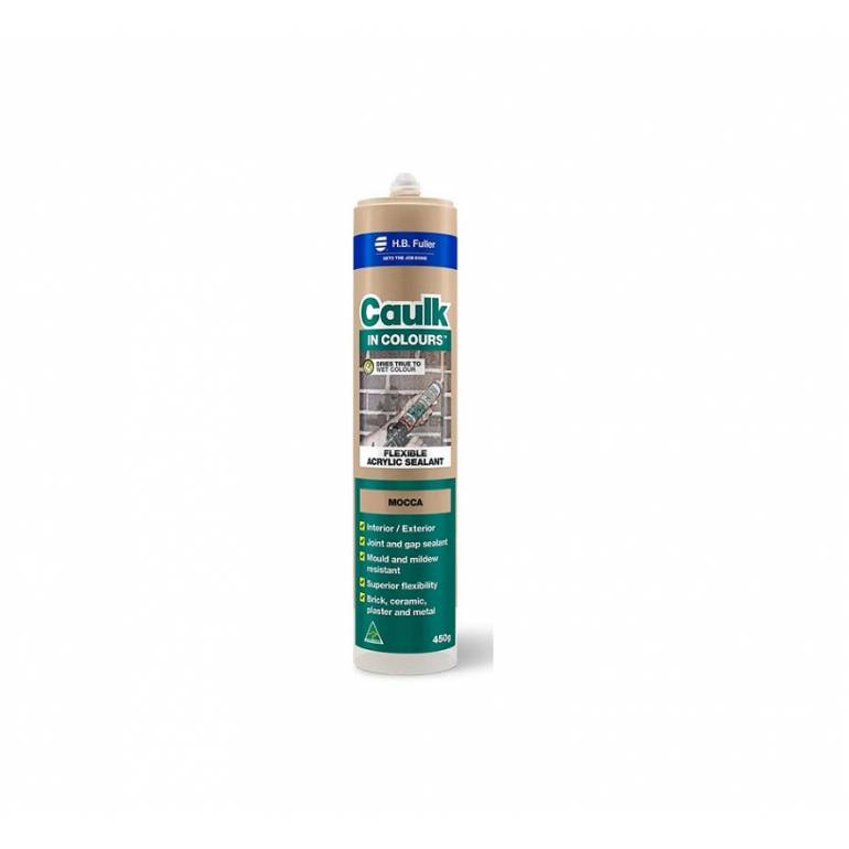 HB Fuller CAULK-IN-COLOURS Dries 'True' To Wet Colours Caulk (Available in 12 Colours)