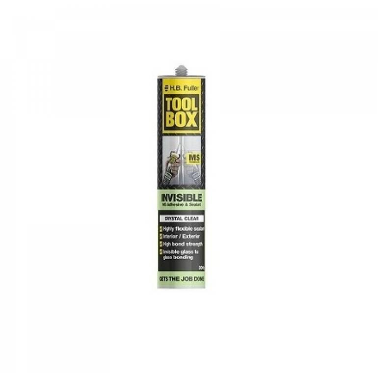 HB Fuller TOOL BOX INVISIBLE Hybrid Polymer Adhesive & Sealant