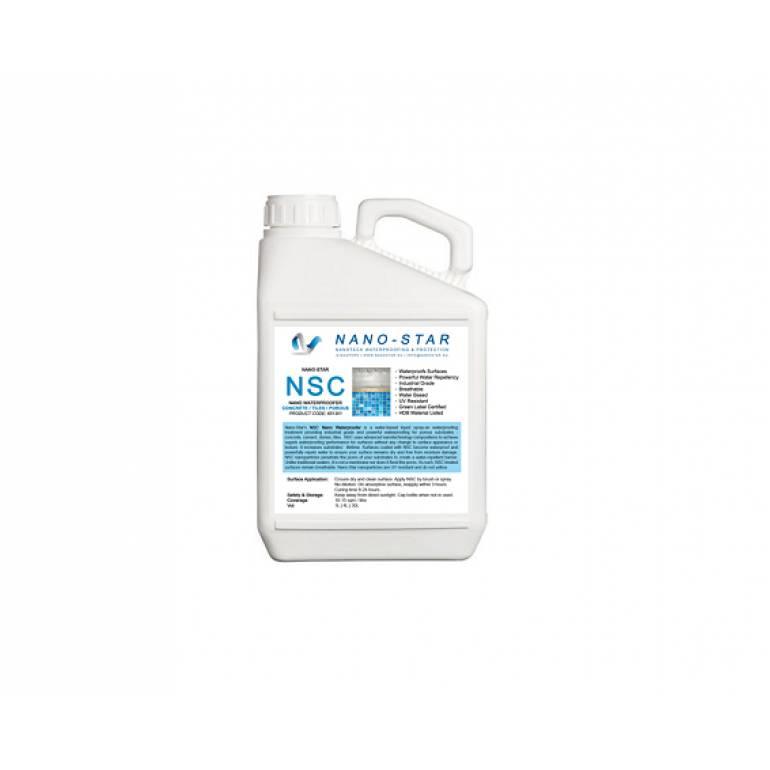 NSC NANO-WATERPROOFER Concrete Waterproofing Coating
